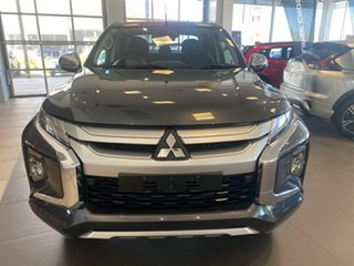 2019 Mitsubishi Triton MR MY19 GLS Double Cab Grey 6 Speed Sports Automatic Utility.