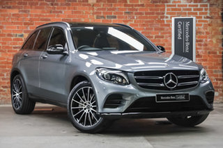2019 Mercedes-Benz GLC-Class X253 800MY GLC200 9G-Tronic Selenite Grey 9 Speed Sports Automatic.