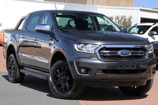 2019 Ford Ranger PX MkIII 2020.25MY XLT Grey 6 Speed Sports Automatic Double Cab Pick Up.