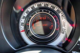 2014 Fiat 500 Series 1 Pop Dualogic Grey 5 Speed Sports Automatic Single Clutch Hatchback
