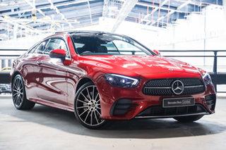 2020 Mercedes-Benz E-Class C238 801MY E300 9G-Tronic Designo Patagonia Red Bright 9 Speed.