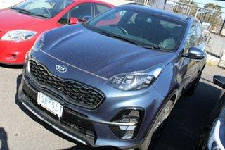 2020 Kia Sportage QL MY20 GT-Line AWD Blue 6 Speed Sports Automatic Wagon.