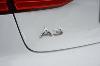2014 Audi A3 8V MY14 Ambition S Tronic White 6 Speed Sports Automatic Dual Clutch Sedan