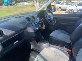 2013 Volkswagen Caddy 2K MY13 TDI250 Maxi DSG Comfortline White 7 Speed Sports Automatic Dual Clutch