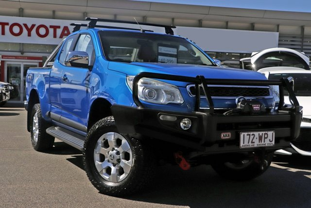 Pre-Owned Holden Colorado RG MY16 LTZ Space Cab Upper Mount Gravatt, 2016 Holden Colorado RG MY16 LTZ Space Cab Blue 6 Speed Sports Automatic Utility
