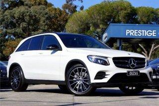 2018 Mercedes-Benz GLC-Class X253 809MY GLC200 9G-Tronic White 9 Speed Sports Automatic Wagon
