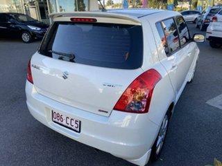 2010 Suzuki Swift RS415 S Pearl White 5 Speed Manual Hatchback.