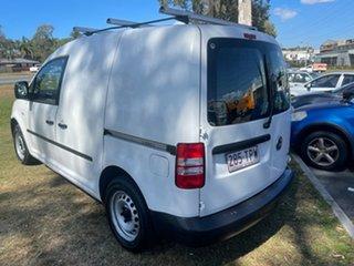 2013 Volkswagen Caddy 2K MY13 TDI250 SWB DSG Trendline White 7 Speed Sports Automatic Dual Clutch