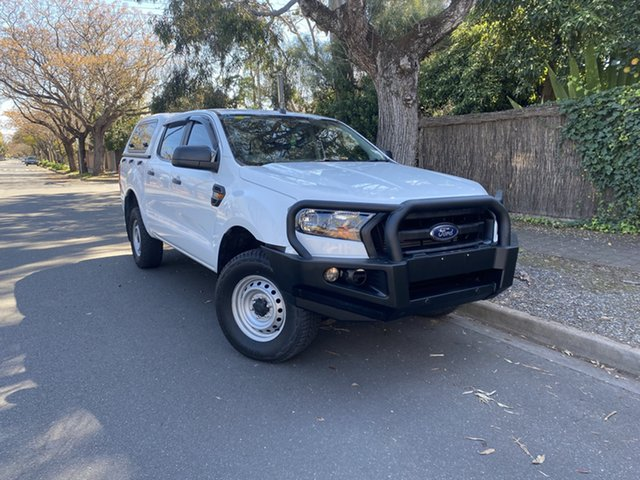 Pre-Owned Ford Ranger PX MkII XL Hawthorn, 2017 Ford Ranger PX MkII XL White 6 Speed Sports Automatic Utility