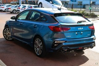 2021 Kia Cerato BD MY22 GT DCT Blue 7 Speed Sports Automatic Dual Clutch Hatchback