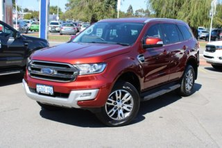 2016 Ford Everest UA Trend Red 6 Speed Sports Automatic SUV.