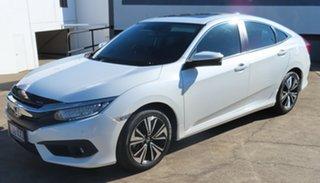 2017 Honda Civic MY16 VTi-LX White Continuous Variable Sedan