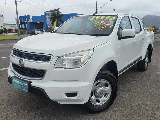 Used Holden Colorado RG MY16 LS Bungalow, 2016 Holden Colorado RG MY16 LS White 6 Speed Manual Utility