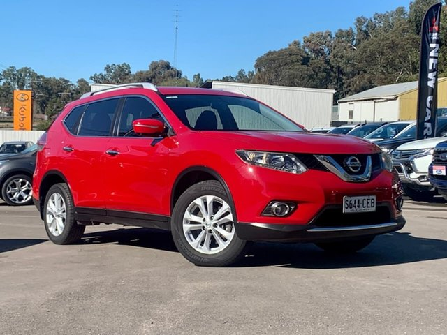 Used Nissan X-Trail T32 ST-L X-tronic 2WD Clare, 2016 Nissan X-Trail T32 ST-L X-tronic 2WD Red 7 Speed Constant Variable Wagon