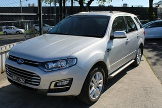 2016 Ford Territory SZ MkII TS Seq Sport Shift Silver 6 Speed Sports Automatic Wagon.