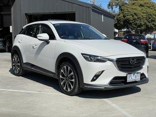 2019 Mazda CX-3 DK4W7A Akari SKYACTIV-Drive i-ACTIV AWD White 6 Speed Sports Automatic Wagon
