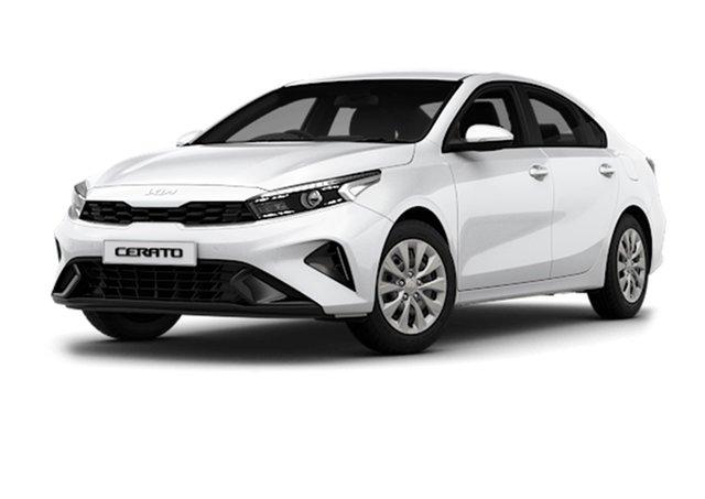 New Kia Cerato BD MY22 S Cardiff, 2021 Kia Cerato BD MY22 S Clear White 6 Speed Sports Automatic Sedan