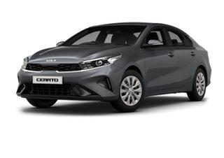 2021 Kia Cerato BD MY22 S Platinum Graphite 6 Speed Sports Automatic Hatchback
