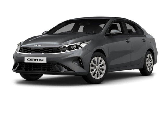 New Kia Cerato BD MY22 S Cardiff, 2021 Kia Cerato BD MY22 S Platinum Graphite 6 Speed Sports Automatic Hatchback