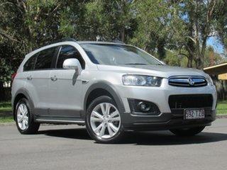 2013 Holden Captiva CG MY14 7 AWD LTZ Silver 6 Speed Sports Automatic Wagon.