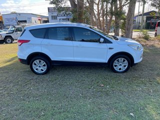2014 Ford Kuga TF MY15 Ambiente 2WD White 6 Speed Manual Wagon