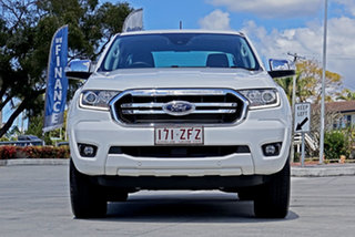 2019 Ford Ranger PX MkIII 2019.00MY XLT Hi-Rider Arctic White 6 Speed Sports Automatic.