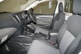 2017 Mitsubishi Triton MQ MY18 GLX 4x2 White 5 Speed Sports Automatic Cab Chassis