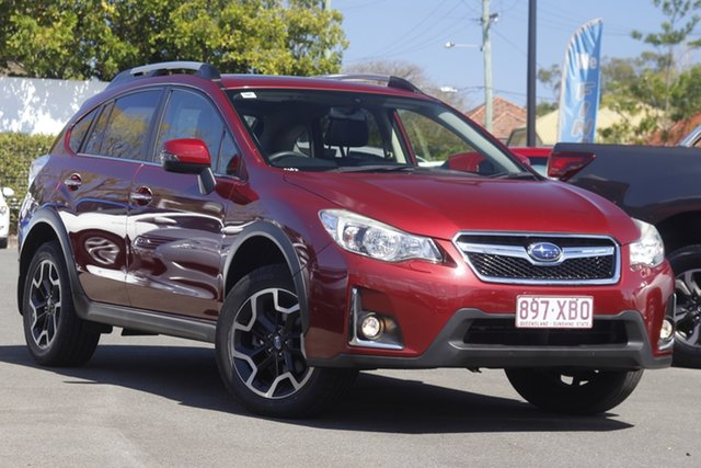 Used Subaru XV G4X MY17 2.0i-L Lineartronic AWD Mount Gravatt, 2017 Subaru XV G4X MY17 2.0i-L Lineartronic AWD Red 6 Speed Constant Variable Wagon