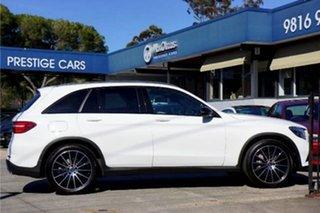 2018 Mercedes-Benz GLC-Class X253 809MY GLC200 9G-Tronic White 9 Speed Sports Automatic Wagon.