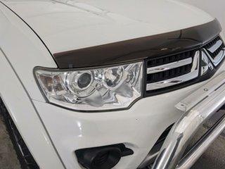 2015 Mitsubishi Challenger PC (KH) MY14 White 5 Speed Manual Wagon.