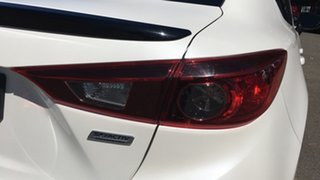 2014 Mazda 3 BM5238 SP25 SKYACTIV-Drive White 6 Speed Sports Automatic Sedan