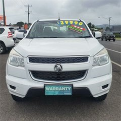 2016 Holden Colorado RG MY16 LS White 6 Speed Manual Utility