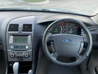2005 Ford Falcon BA Mk II SR Silver 4 Speed Sports Automatic Sedan.