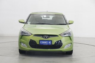2014 Hyundai Veloster FS3 + Coupe Green 6 Speed Manual Hatchback.