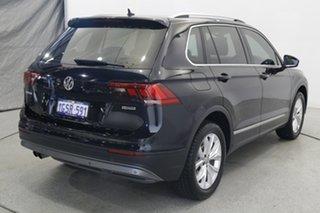 2019 Volkswagen Tiguan 5N MY19.5 132TSI DSG 4MOTION Comfortline Black 7 Speed