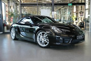2014 Porsche Cayman 981 PDK Black 7 Speed Sports Automatic Dual Clutch Coupe.