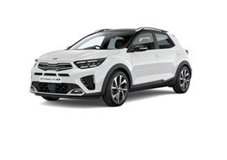 2021 Kia Stonic YB MY21 GT-Line DCT FWD Clear White 7 Speed Sports Automatic Dual Clutch Wagon