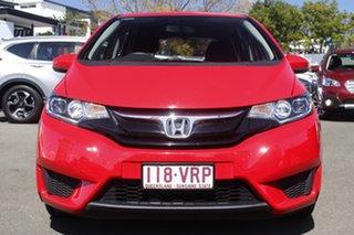2015 Honda Jazz GF MY15 VTi Red 1 Speed Constant Variable Hatchback