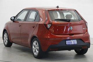 2021 MG MG3 SZP1 MY21 Core Tartan Red 4 Speed Automatic Hatchback.