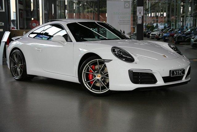 Used Porsche 911 991 MY17 Carrera S PDK North Melbourne, 2016 Porsche 911 991 MY17 Carrera S PDK White 7 Speed Sports Automatic Dual Clutch Coupe