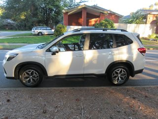 2021 Subaru Forester S5 MY21 2.5i CVT AWD Crystal White Pearl 7 Speed Constant Variable Wagon