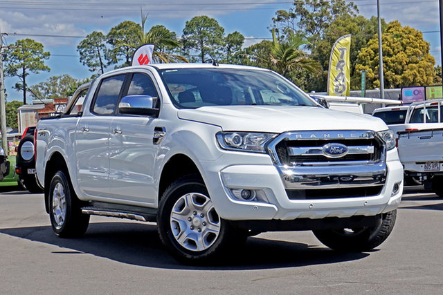 Used Ford Ranger PX MkII XLT Double Cab Chandler, 2017 Ford Ranger PX MkII XLT Double Cab White 6 Speed Sports Automatic Utility