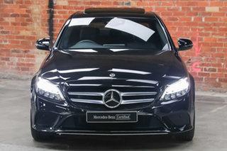 2020 Mercedes-Benz C-Class W205 800+050MY C300 9G-Tronic Obsidian Black Metallic 9 Speed