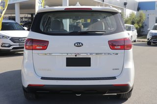 2019 Kia Carnival YP MY19 S Clear White 8 Speed Sports Automatic Wagon
