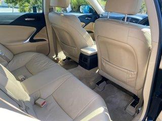 2008 Lexus IS GSE20R MY09 IS250 Prestige Black 6 Speed Sports Automatic Sedan