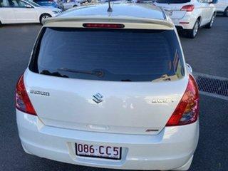 2010 Suzuki Swift RS415 S Pearl White 5 Speed Manual Hatchback