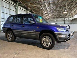 1999 Toyota RAV4 SXA11R Blue 5 Speed Manual Wagon.
