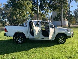 2019 Toyota Hilux GUN126R SR5 Double Cab White 6 Speed Manual Utility