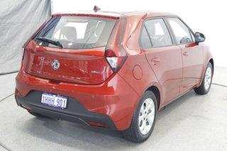 2021 MG MG3 SZP1 MY21 Core Tartan Red 4 Speed Automatic Hatchback