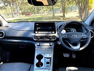 2021 Hyundai Kona Os.v4 MY21 electric Highlander Atlas White Black Roof 1 Speed Reduction Gear Wagon